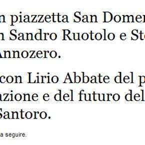 Fuori Programma: Sandro Ruotolo e Stefano Bianchi