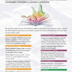"""Trame al Festival """"Cultura è Libertà"""" di Voghera"""