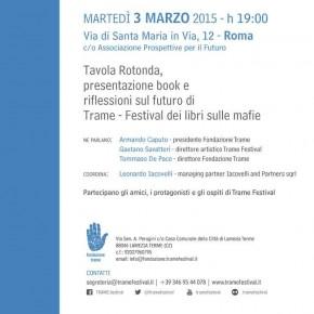 Roma, Tavola rotonda. Riflessioni sul futuro di Trame Festival
