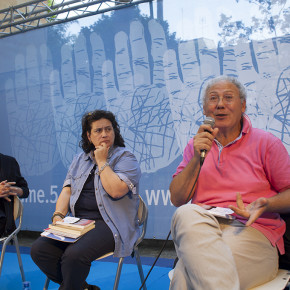 Don Giacomo Panizza, Nadia Donato e Roberto Mistretta