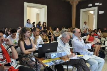 Conferenza stampa di apertura del Festival Trame.5 (foto di Maria Pia Tucci)