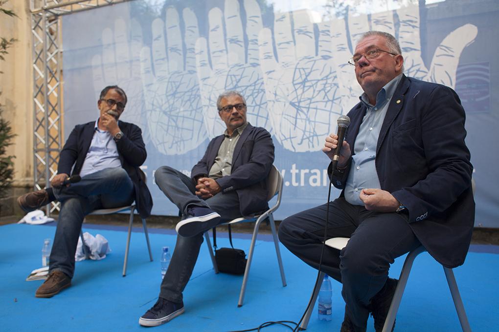 Sandro Ruotolo,Festival Raffaele Sardo,Augusto Di Meo (foto Mario Spada)