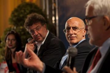 Giovanna Torre, Gaetano Savatteri, Michele Prestipino ed Enzo Ciconte (foto di Mario Spada)