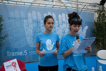 i giovani favolosi di Trame Festival (foto di Mario Spada)