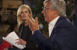 Luisella Costamagna e Paolo Siani (foto di Mario Spada)