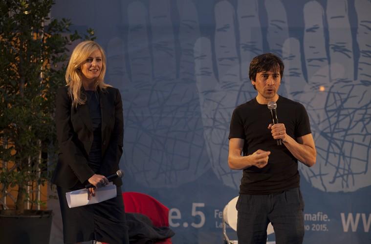 Luisella Costamagna e Luigi Lo Cascio (foto Mario Spada)