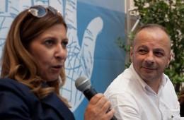 Mariza Sabella e Giuseppe Baldassarro (foto Mario Spada)