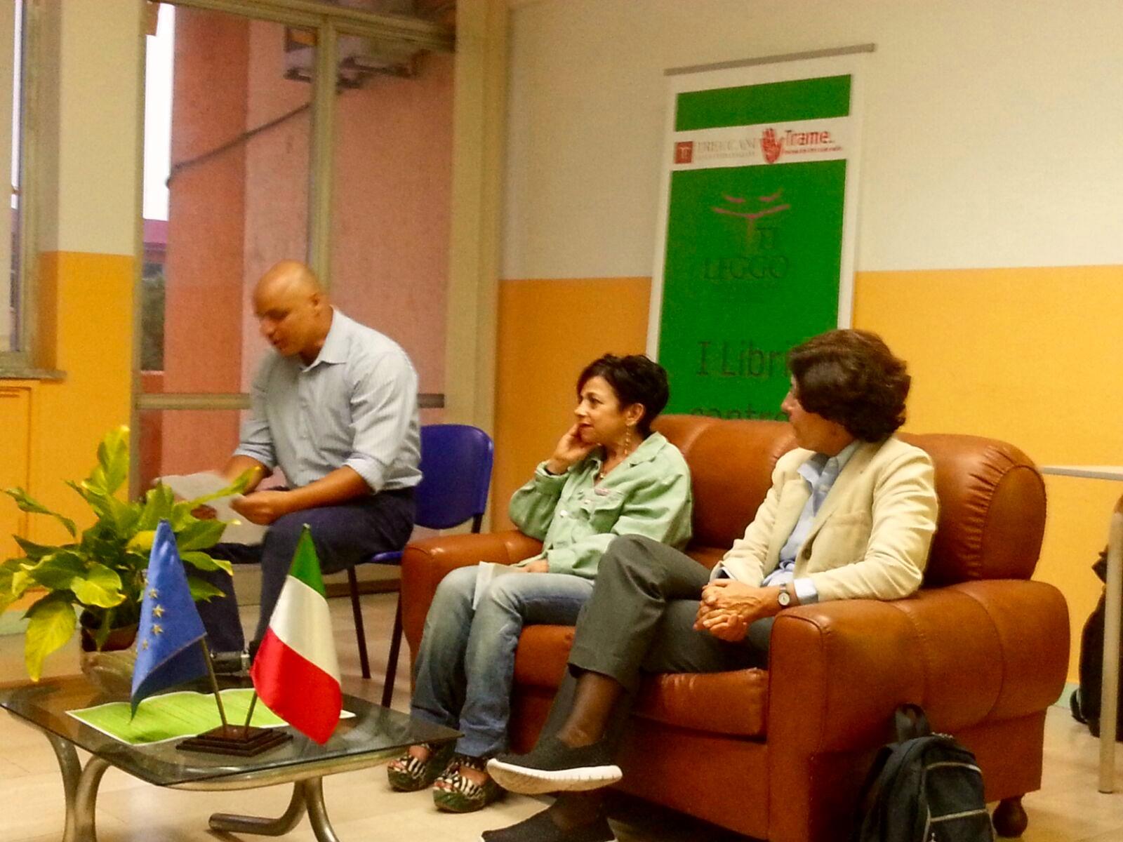 "Lamezia Terme (CZ), #TiLeggo. Istituto Professionale ""Einaudi"". Gianfranca Bevilacqua, Bianca Stancanelli"