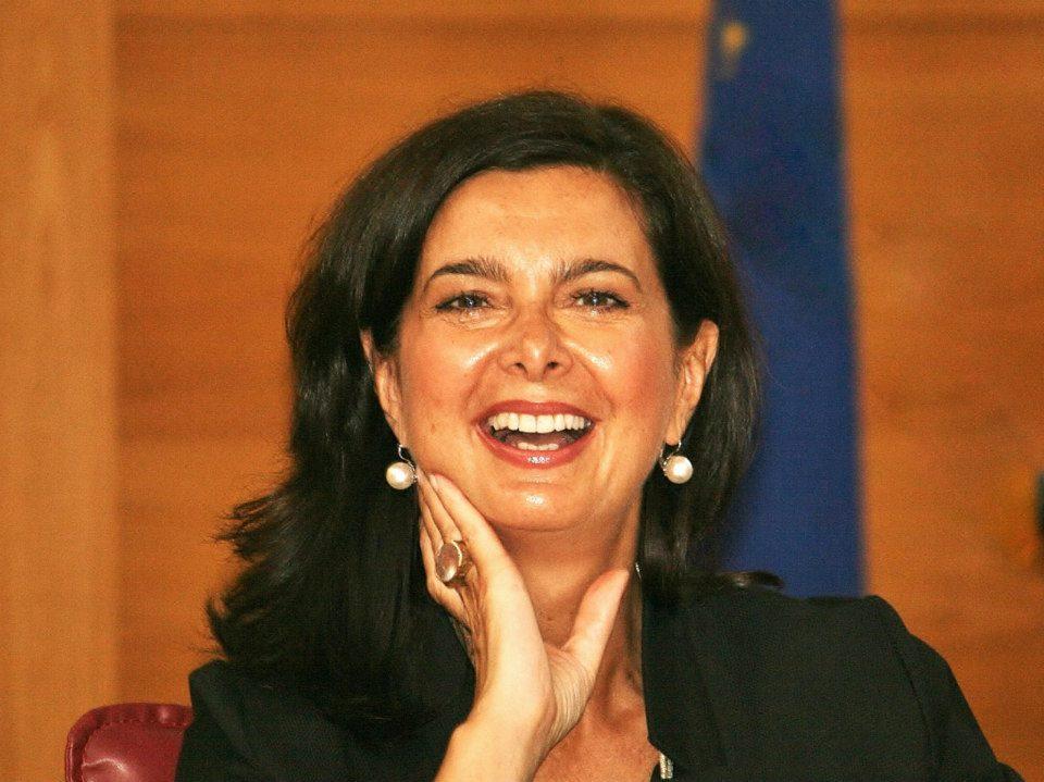 Laura Boldrini, ospite di Trame Festival