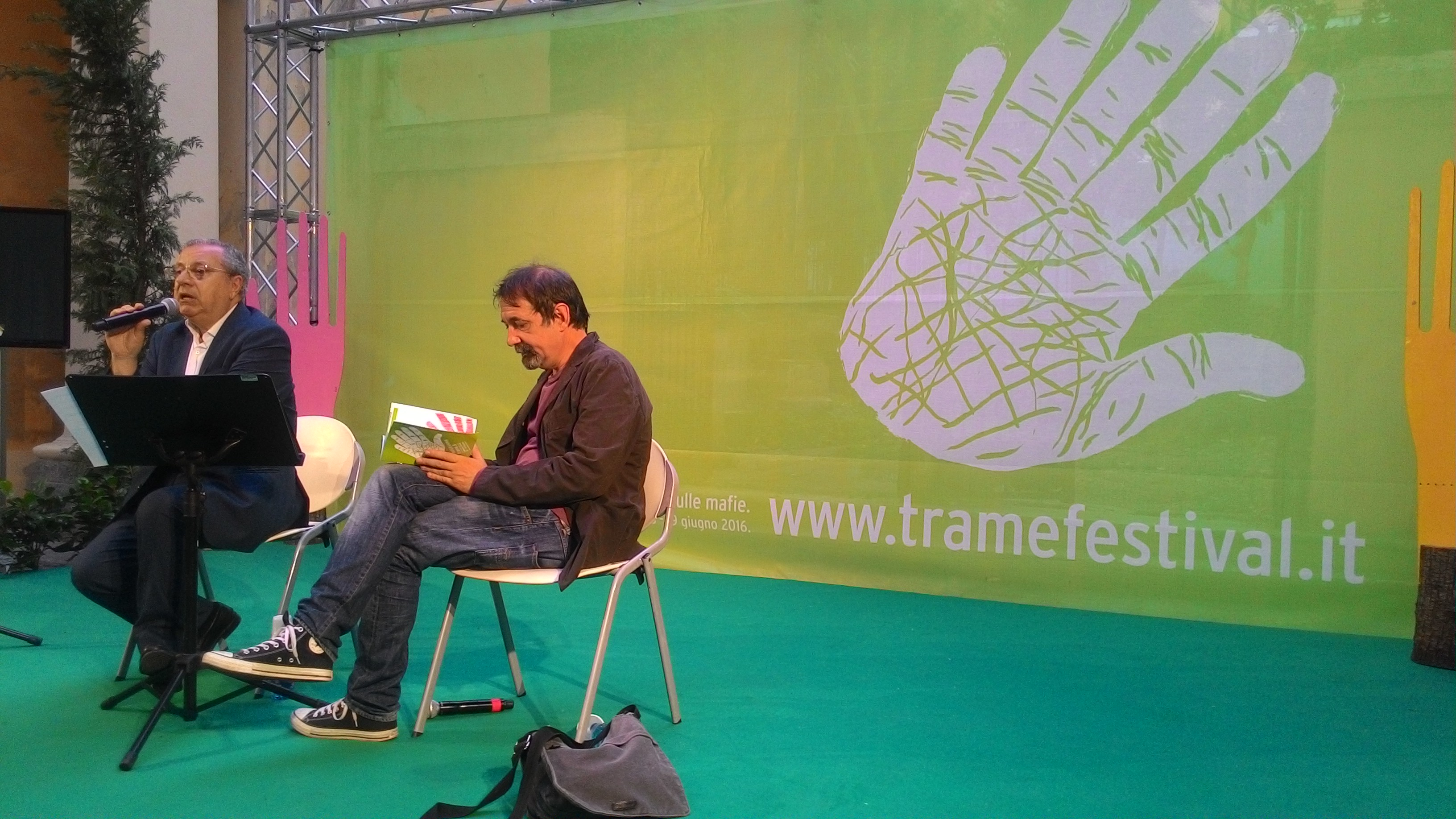 Emanuele Trevi, Luigi Saitta